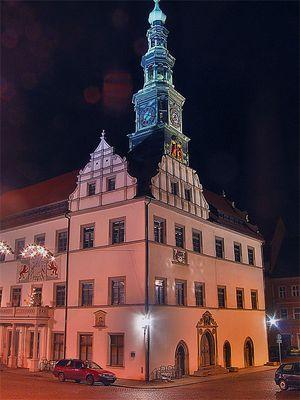 Rathaus in Pirna/Sachsen