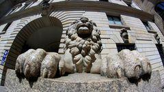 Rathaus-Löwe @ FishEye
