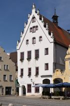 Rathaus, Marktplatz, Wemding, September 2014