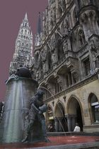 Rathaus München - Aussenansicht