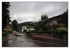 Rathaus Schliersee @Rain