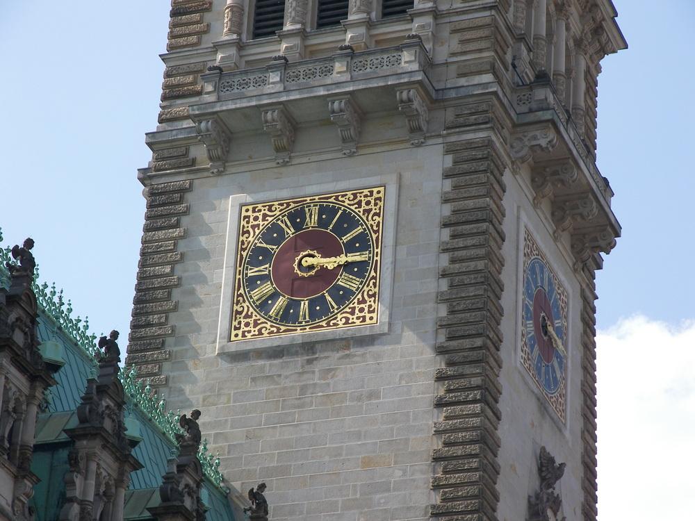 Rathaus Uhr