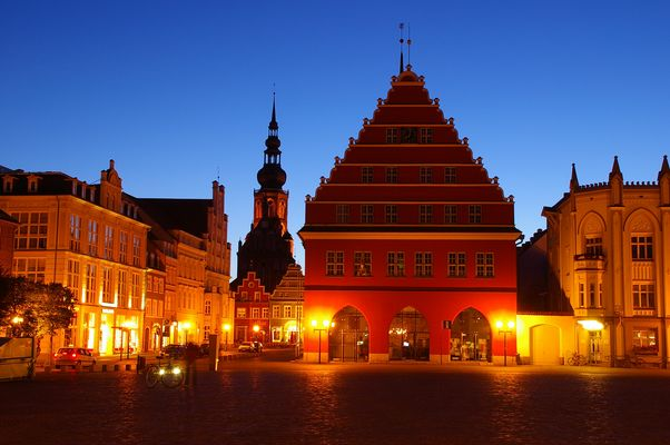 Rathaus von Greifswald