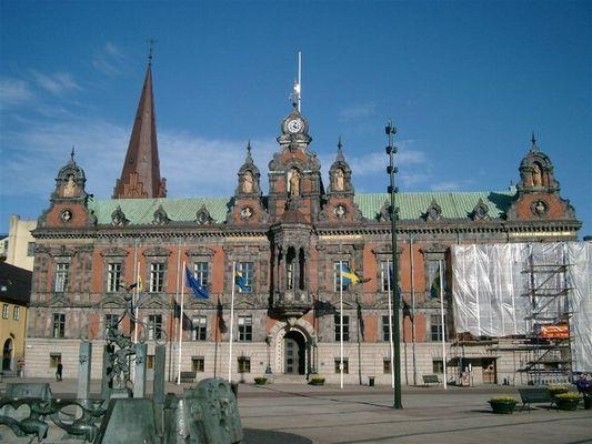 Rathaus von Malmö, Südschweden