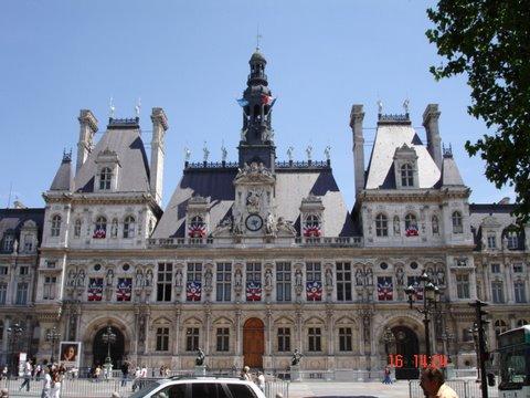 Rathaus von Paris