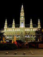 Rathaus Wien...mit Weihnachtlichen Glanz, nach 22h