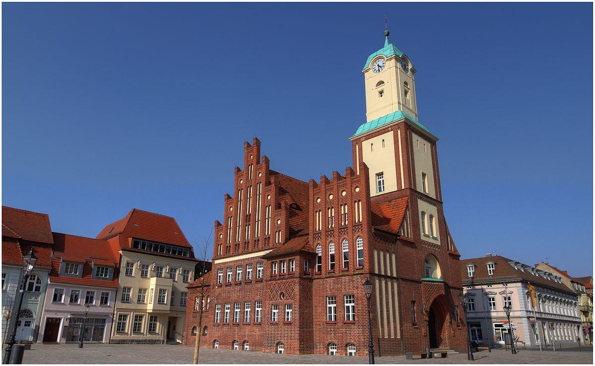 Rathaus Wittstock/Dosse