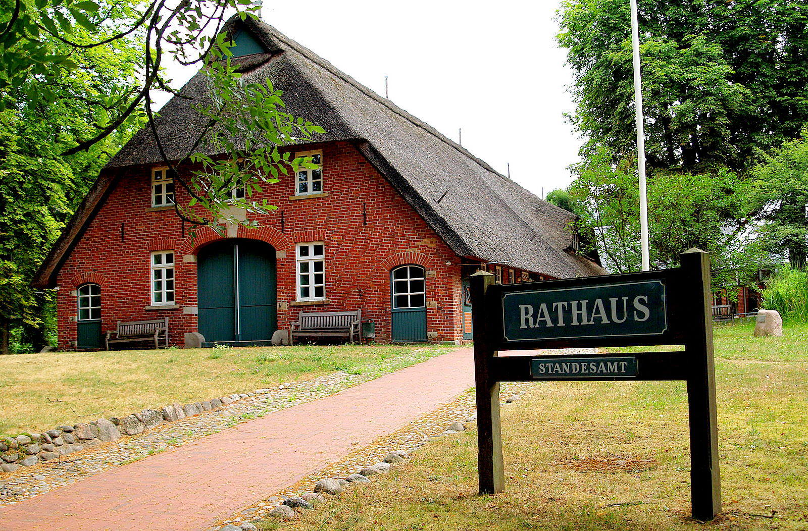 Rathaus worpswede