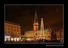 Rathaus zu Weihnachten
