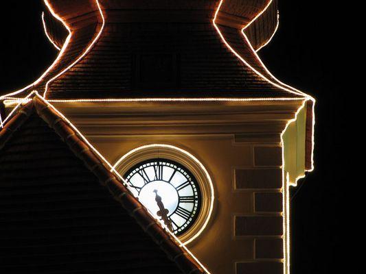 Rathaus zur Adventszeit