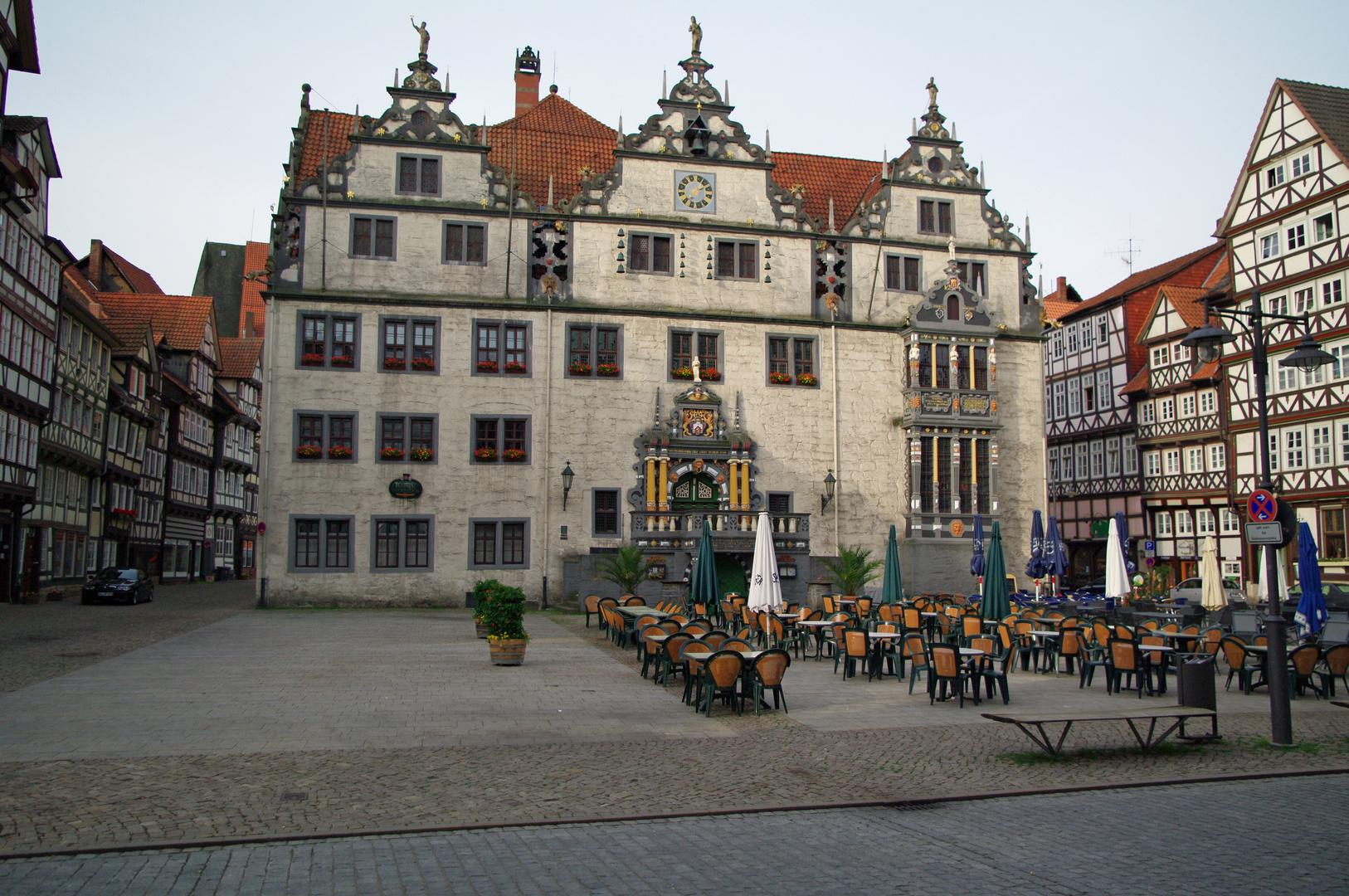 Rathausfront Hann.Münden