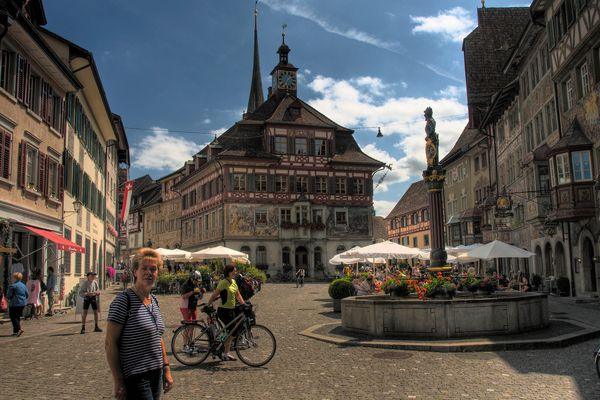 Rathausplatz - Stein am Rhein - Schweiz