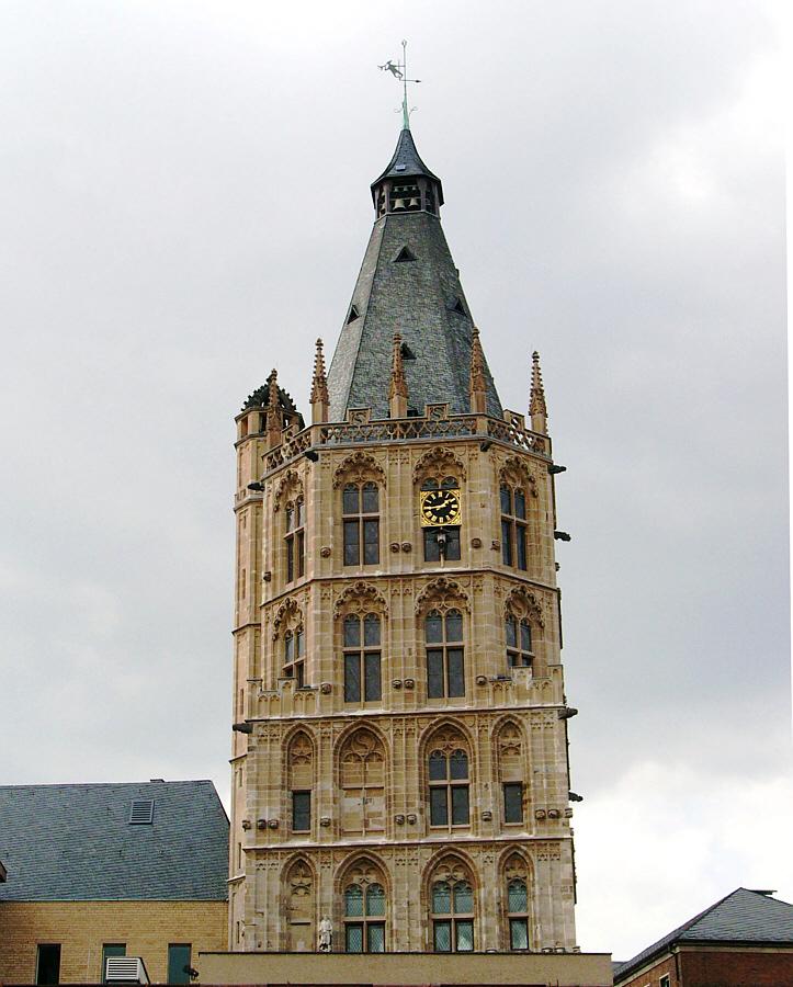 Rathausturm in Köln