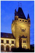 Rathausturm in Weinheim#1