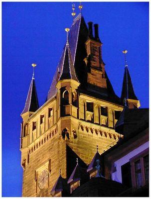 Rathausturm in Weinheim#2