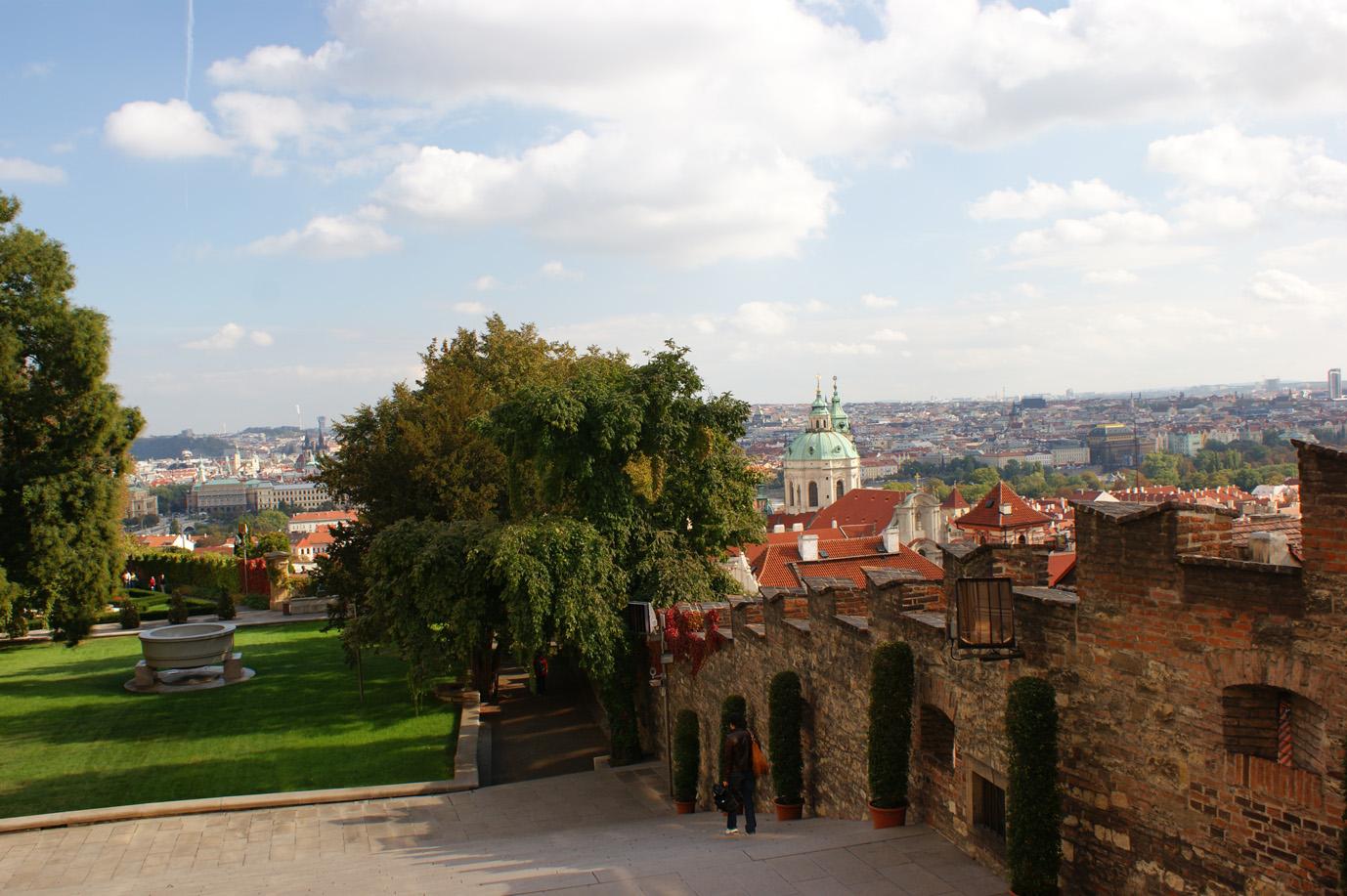 Ratschin über Prag