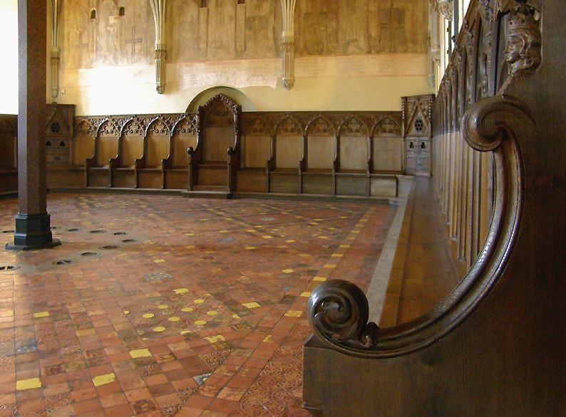 Ratssaal in der Marienburg