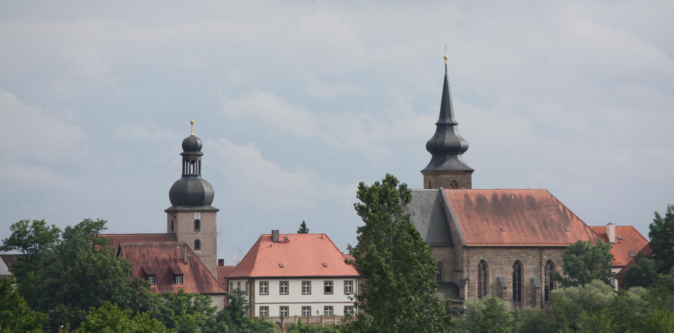 Rattelsdorf über Bamberg...