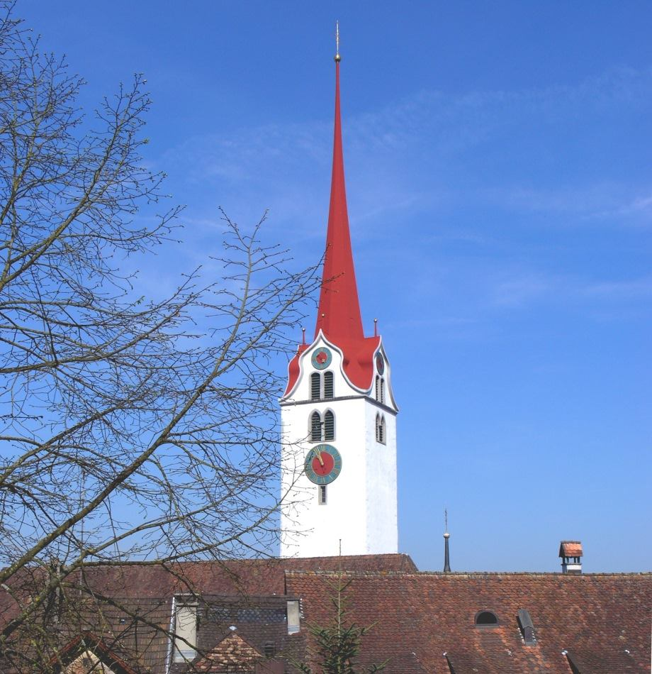 Raub der Flammen - Kirche in Bremgarten