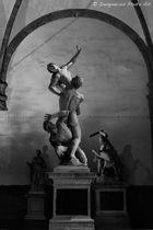 Raub der Sabinerinnen - Piazza Veccio / Florenz