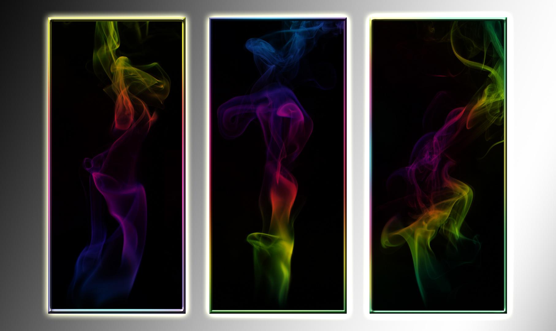 Rauch-so verschieden wie ein Fingerabdruck