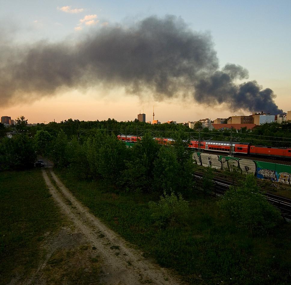 Rauch über Berlin #2