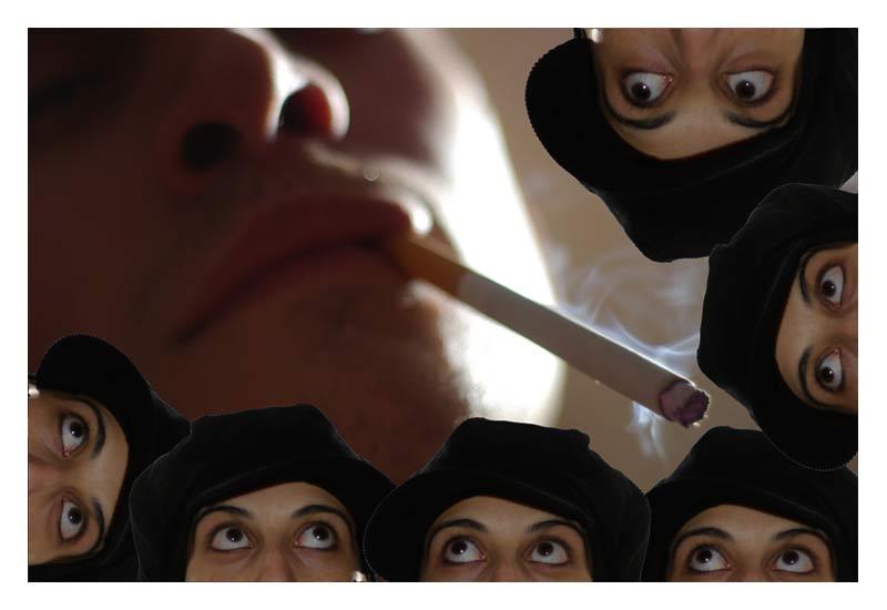 Rauchen auf Teufel komm raus