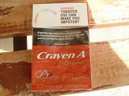 Rauchen gefaehrdet Deine Manneskraft
