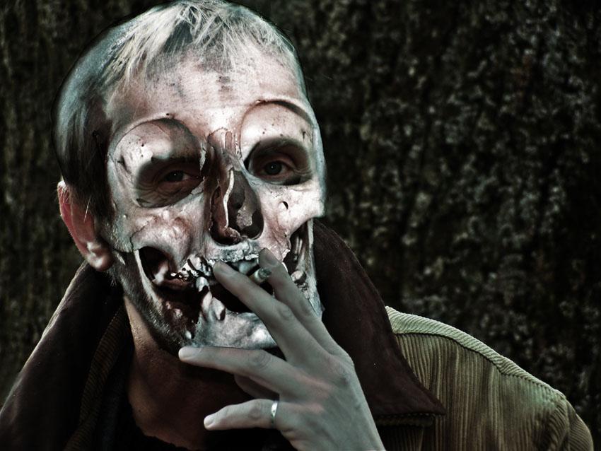 Rauchen ist schlecht für deinen Teint !