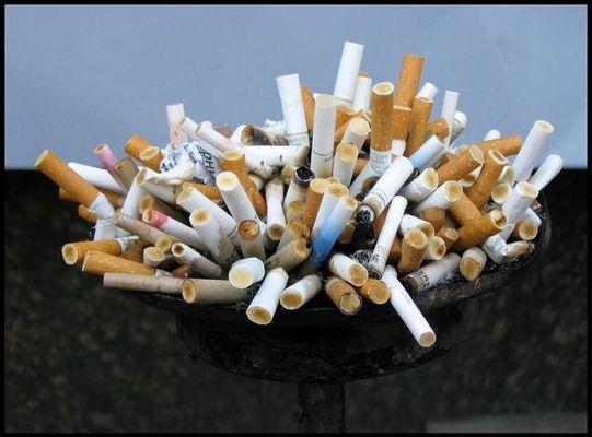 Rauchen kann tödlich sein...