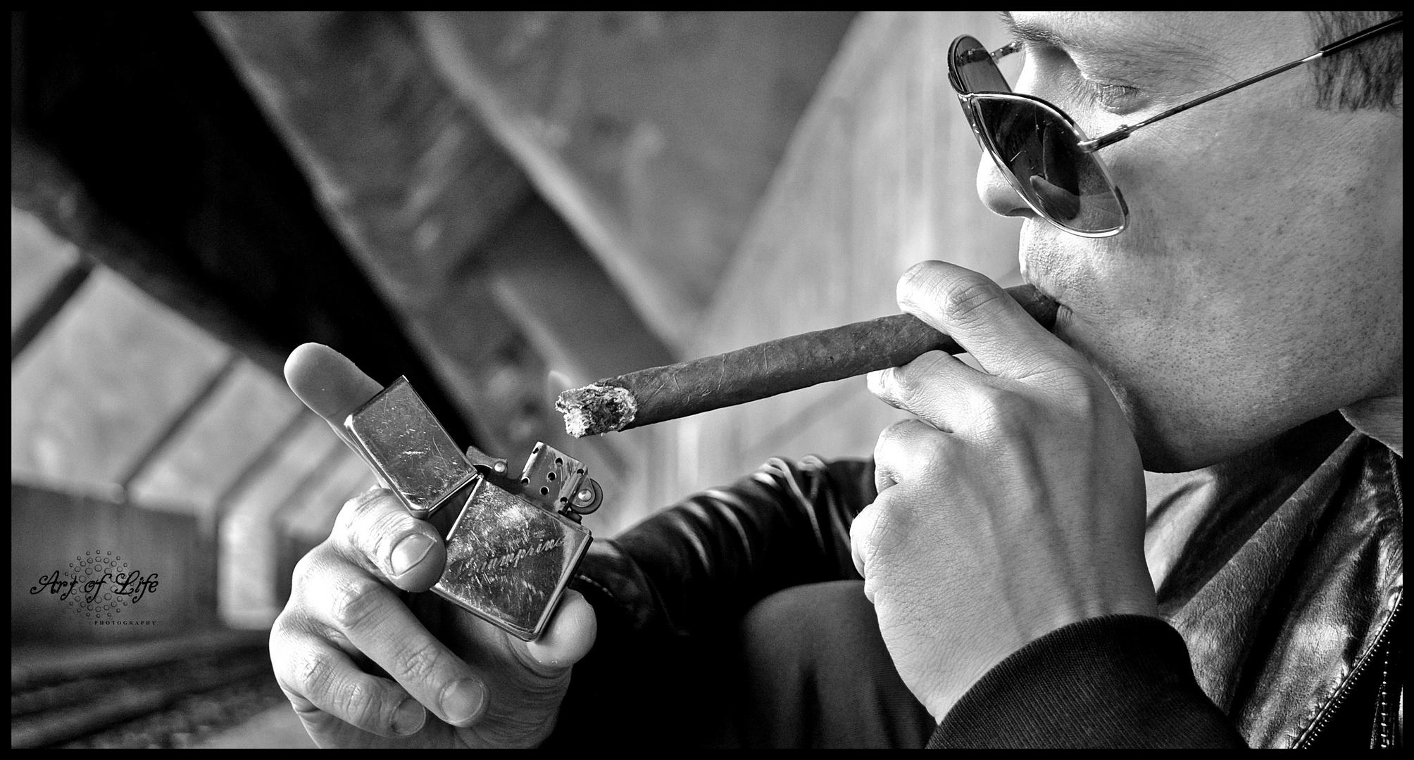 Rauchen kann tödlich sein....