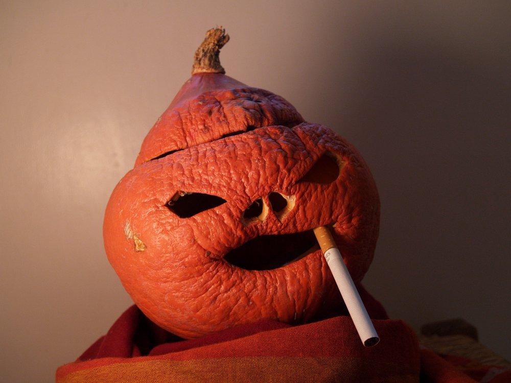 Rauchen läßt Sie vorzeitig altern...