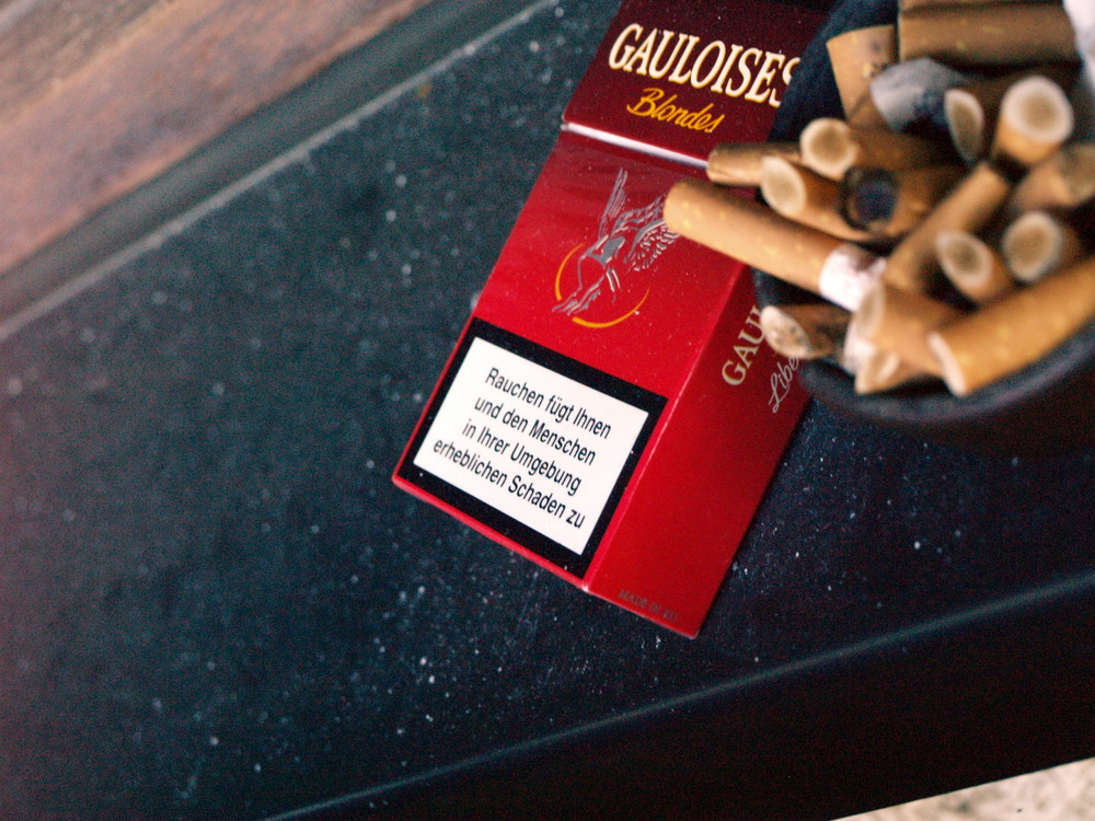 Rauchen schadet der Gesundheit...