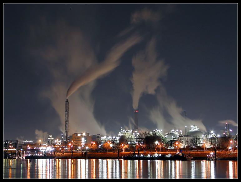 Rauchende BASF