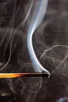 rauchende Reste