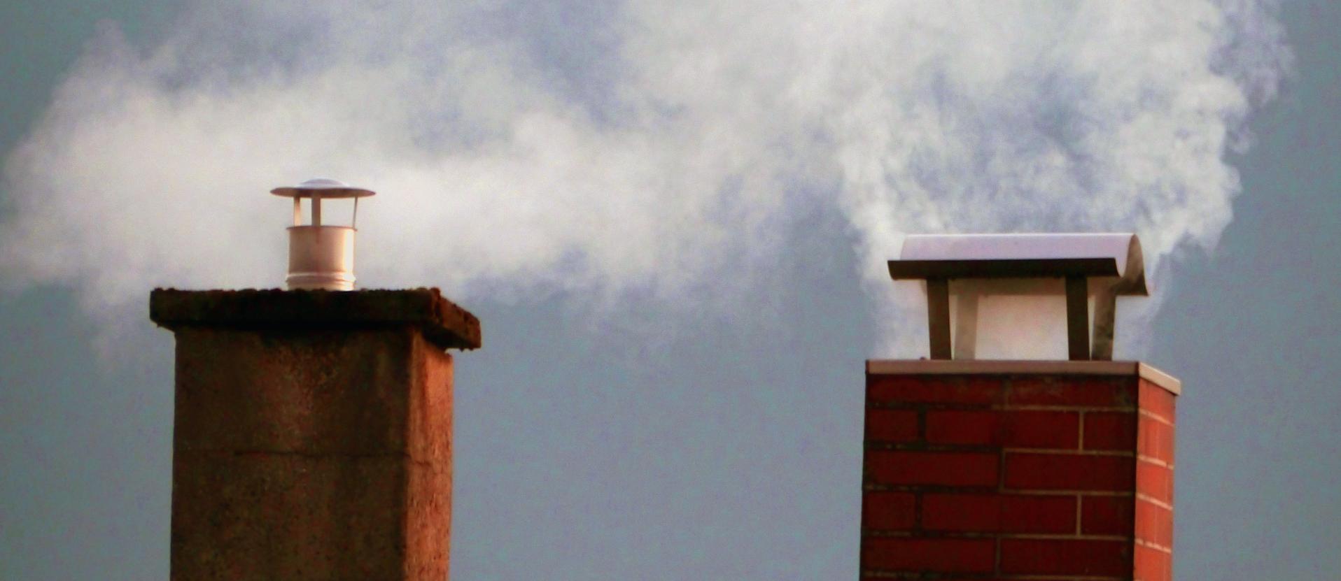 rauchende Schornsteine