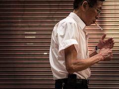 Raucher in Macao