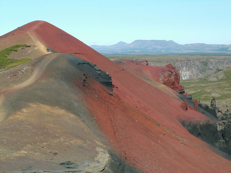 Raudholar auf Island