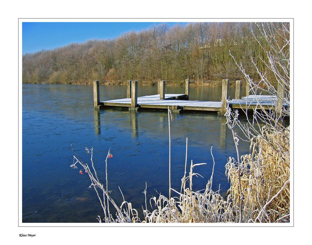 Rauhreif am Breidensteiner See