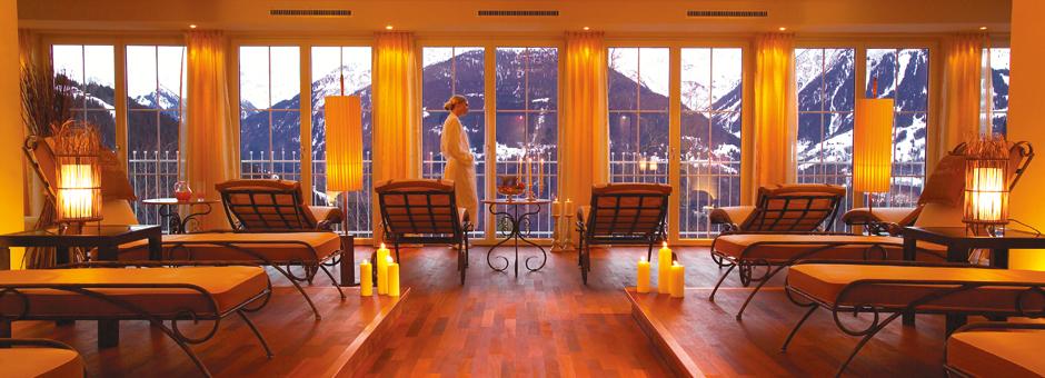 Raum der Stille im Hotel