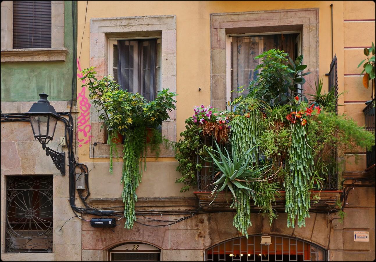 Raum ist auf dem kleinsten Balkon