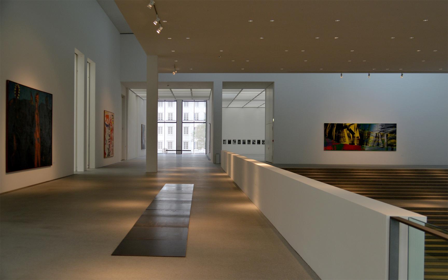 RAUMANSICHT Pinakothek der Moderne München