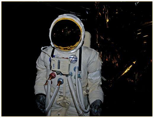 Raumfahrtanzug