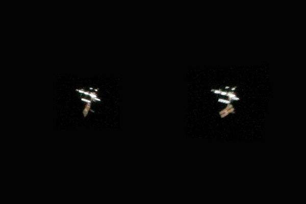 Raumstation ISS am 11.4.2007
