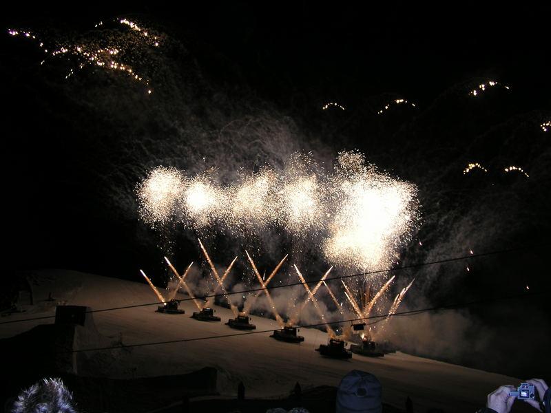 Raupen - Feuerwerk