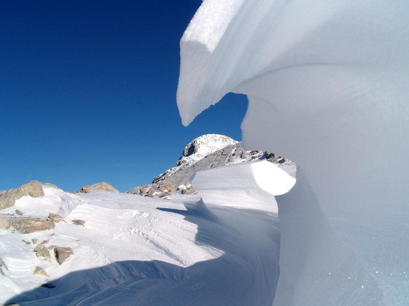 Raus aus dem Schnee in die Sonne