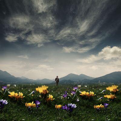 Raus in den Frühling . . .