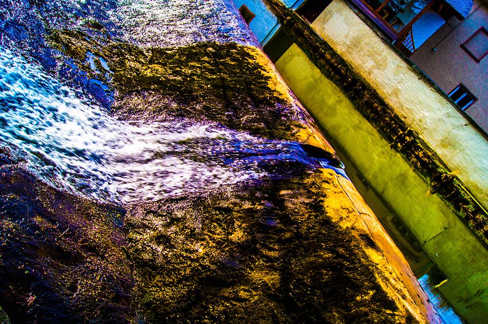 Rausch des Wasserfalls