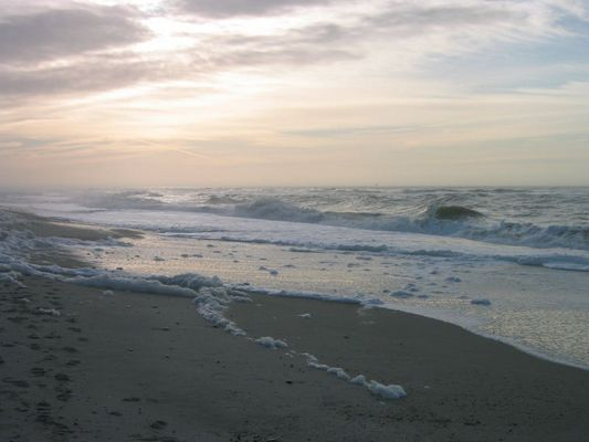 Rauschende Wellen in Dänemark