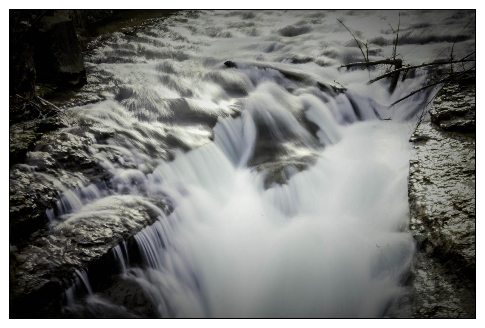 rauschender Fluß